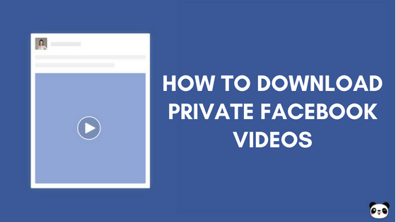 how to download private video from facebook on iphone