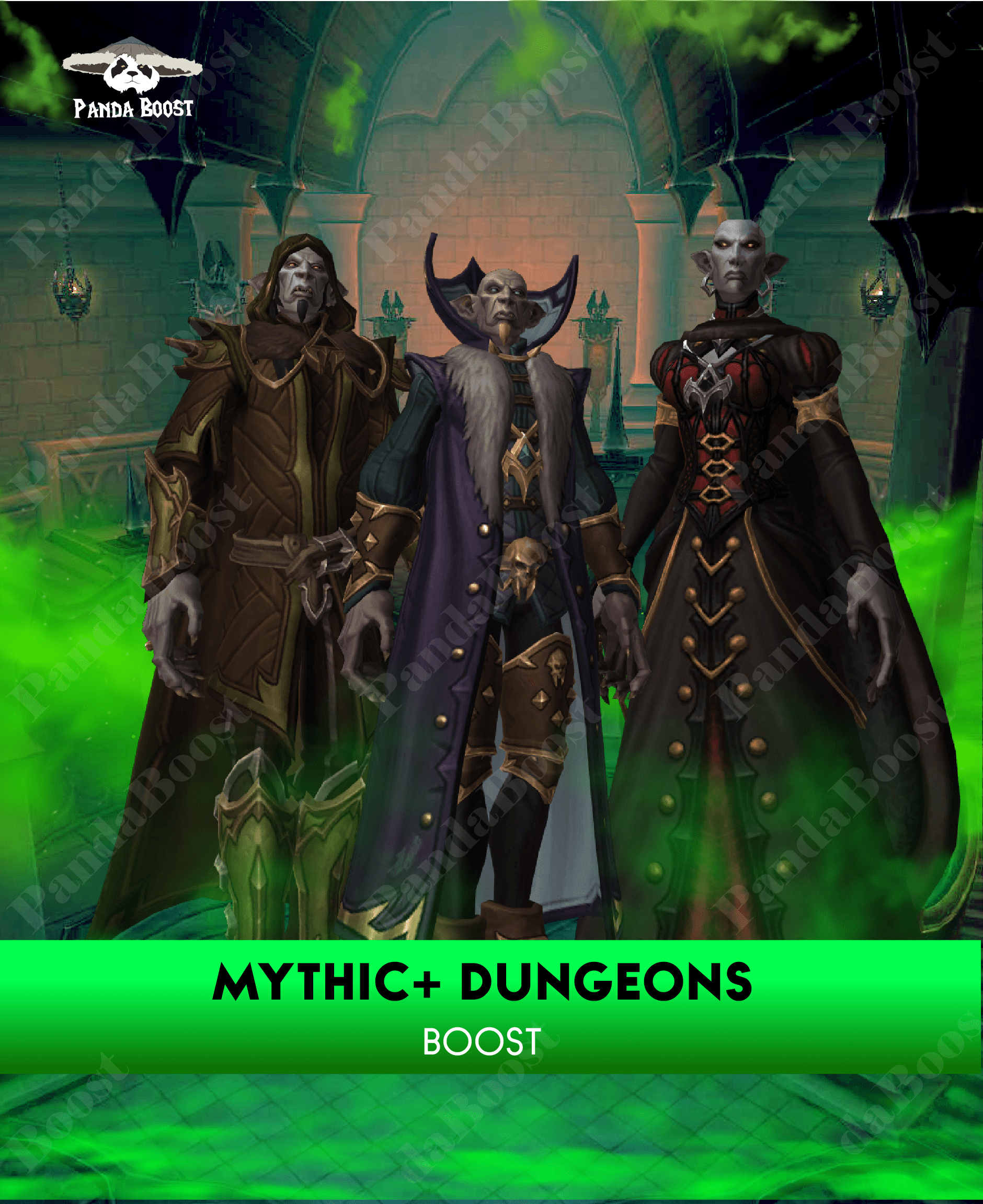 Mythic + Dungeons Boost