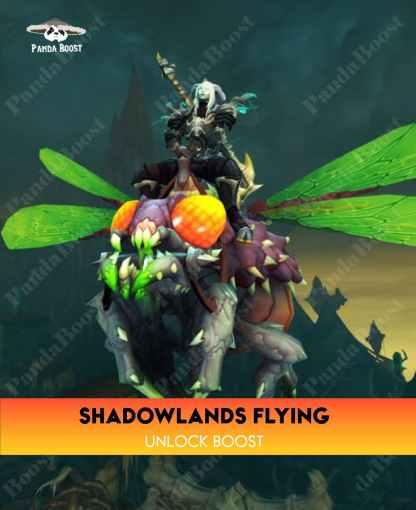SHADOWLANDS FLYING UNLOCK BOOST