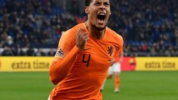 Virgil van Dijk anotó el empate 2-2 ante Alemania en la Liga de naciones