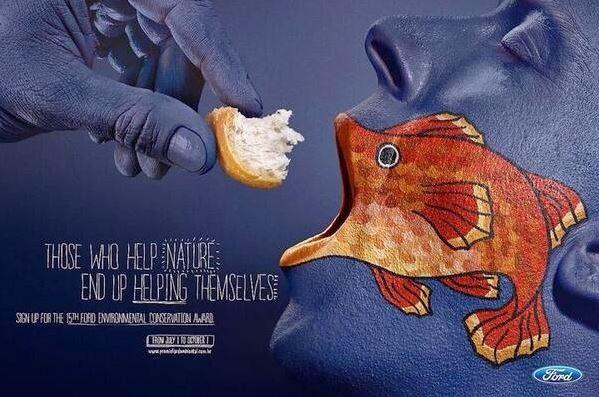 Contoh Desain Poster dan Slogan Insipratif Unik dan Kreatif