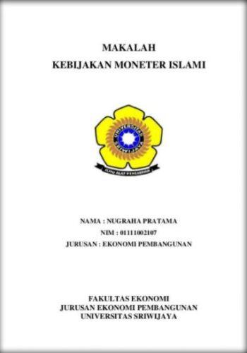 contoh cover makalah individu  PANDAIBESICOM