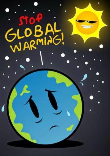 contoh poster pemanasan global