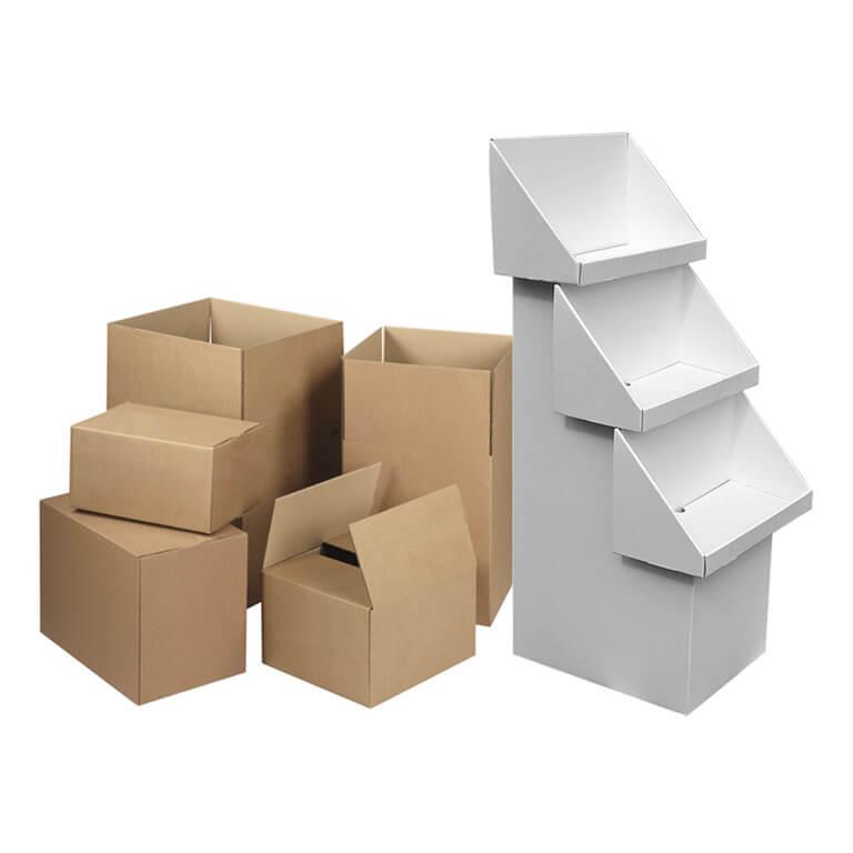 Stock Boxes & Stock Displays