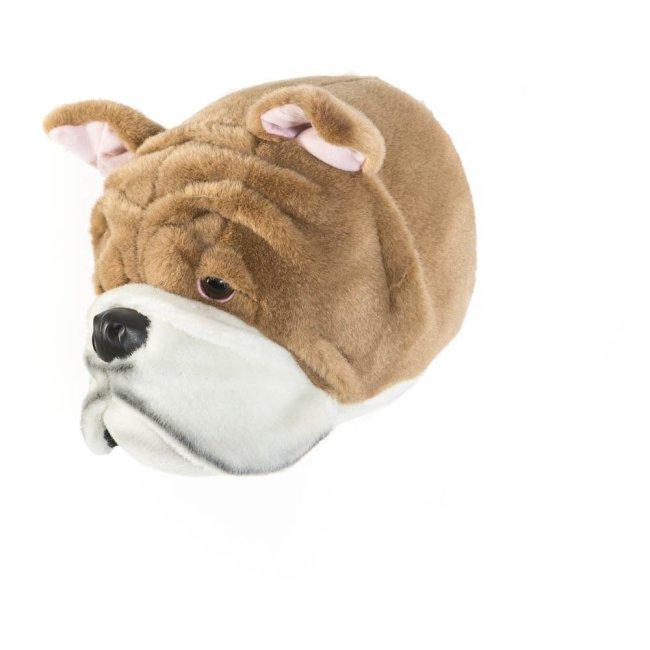 Plüsch Tierkopf Bulldog Matthew