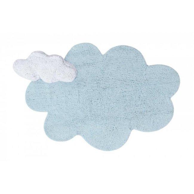 Lorena Canals Kinderteppich Puffy Dream Blau