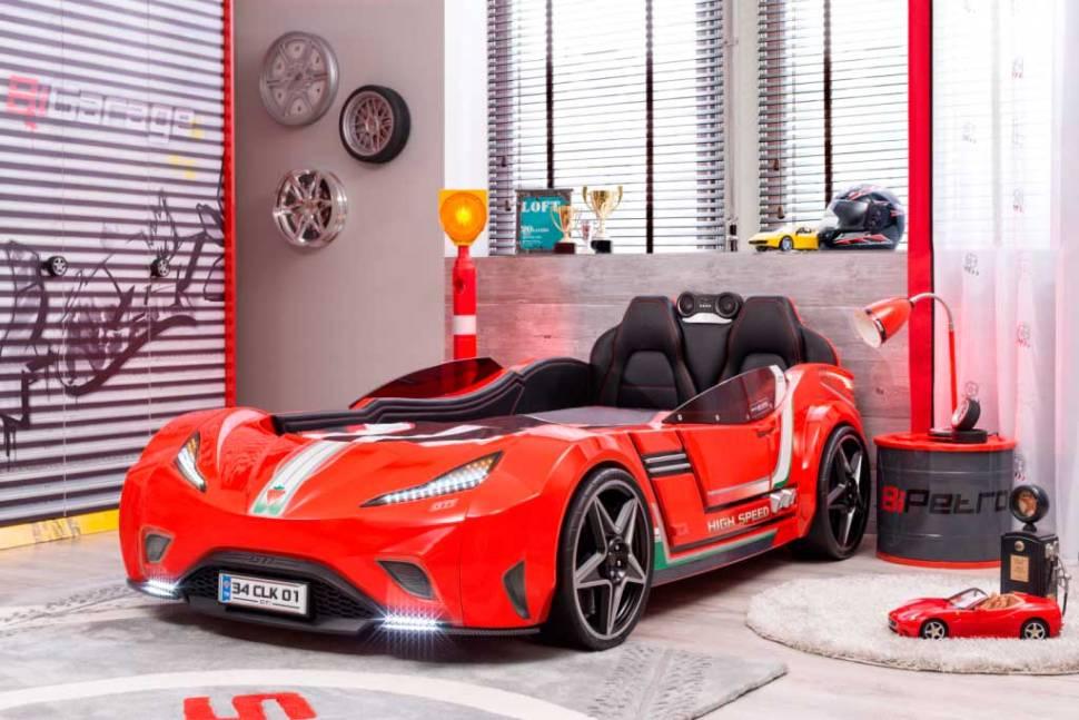 Autobetten: Ein Traum für Jungen und Mädchen