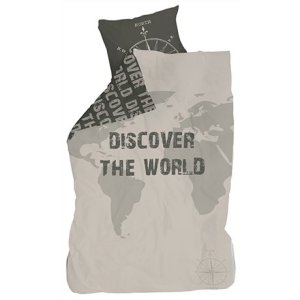 Bettwäsche Discover the world