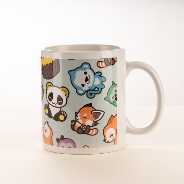 Mug Pandakiwi and friends