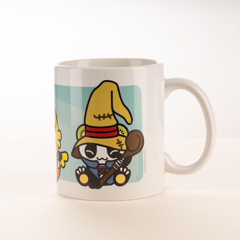 Mug Pandakiwi Panda Fantasy