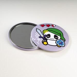Miroir de poche Pandakiwi Legend of Panda