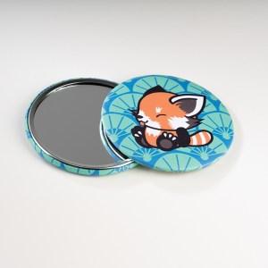 Miroir de poche Pandakiwi Panda roux