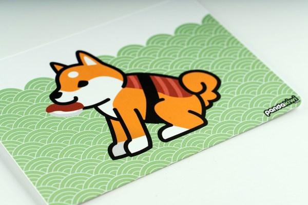 Carte Postale Shiba Inu