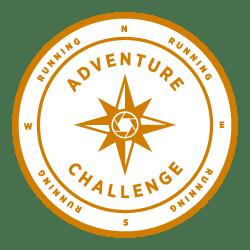 Strava adventure running challenge badge