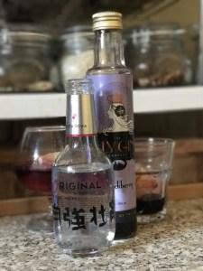Ely Gin blackberry and Yuzu Ocha Original tonic water