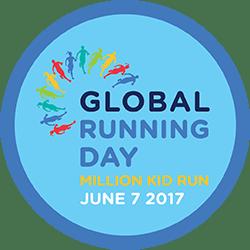 Strava Global Running Day 2017 challenge completion badge