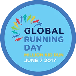 Strava Global Running Day 2017 challenge completion badge