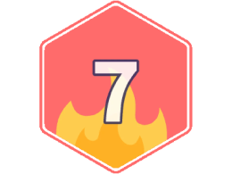 NaNoWriMo 2019: 7-day streak