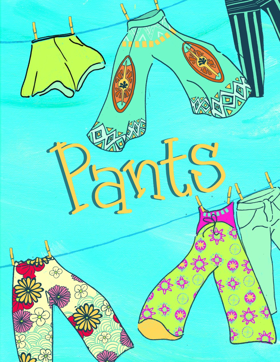 pants cover