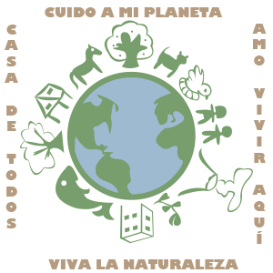 La Tierra es mi casa - Ilustración digital
