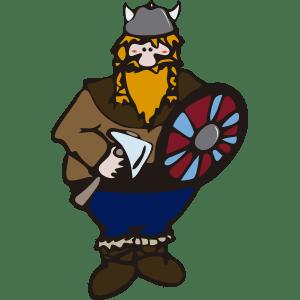 Vikingo pelirrojo
