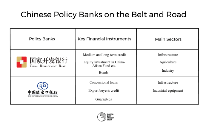 Policy Banks on the Belt and Road
