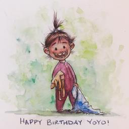 Happy Birthday Yoyo