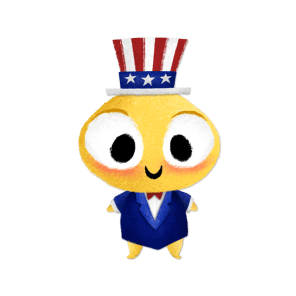 USA Chickpea Sticker