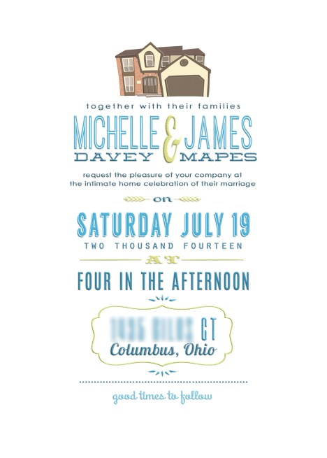 Miche's Wedding Invite