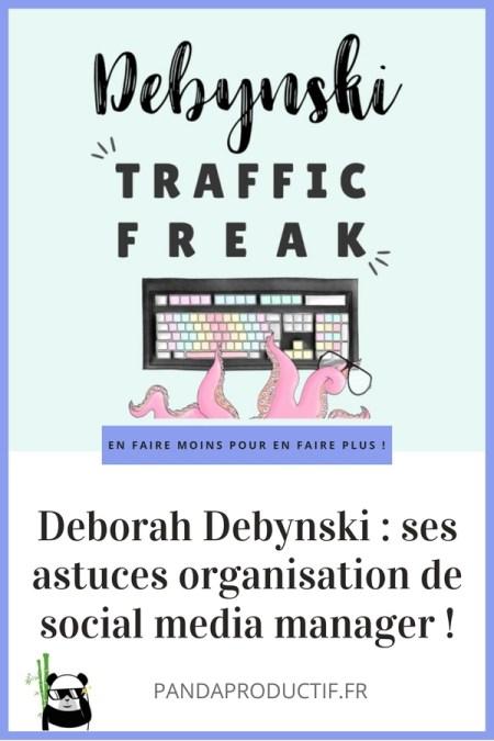 astuces organisation Déborah Debynski