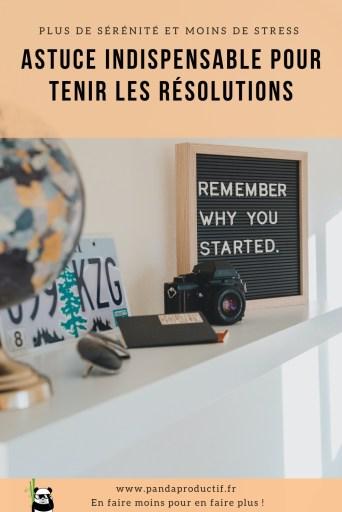 Méthode en 3 étapes pour tenir les résolutions en restant motivé à long terme