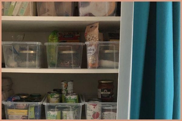 Méthode pour ranger son placard alimentaire