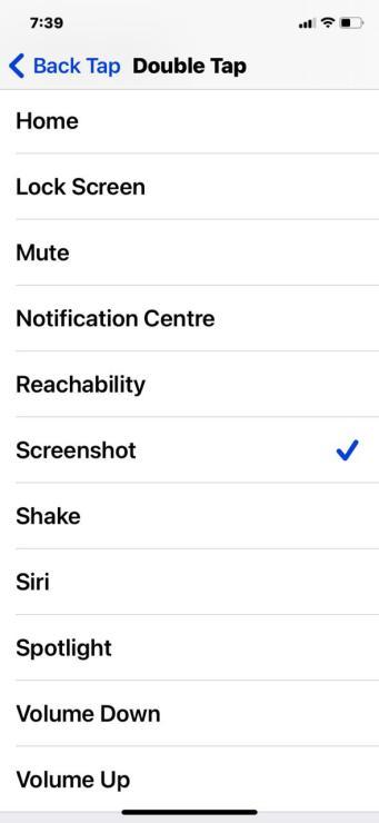 How to take screenshot on an iPhone