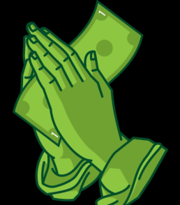 Treating money as sacred