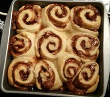 Or how about chocolate filled cinnamon rolls?