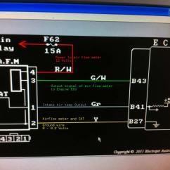 Air Flow Meter Wiring Diagram 1991 Toyota 4runner Stereo Honda Today Service Manual Alternator