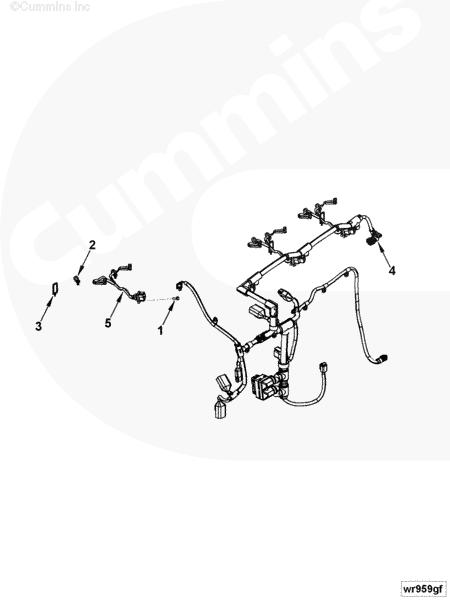 Каталог деталей двигателя Cummins ISBe 210 (стр. 27