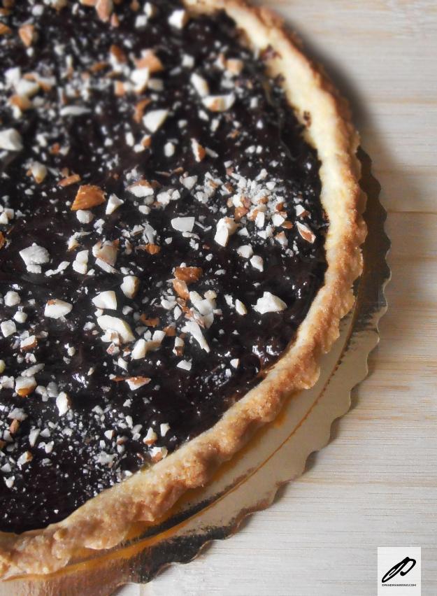 crostata al semolino e cioccolato