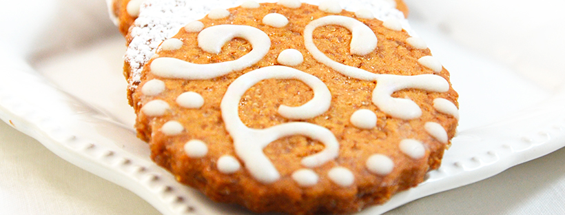 Biscotti cannella decorati