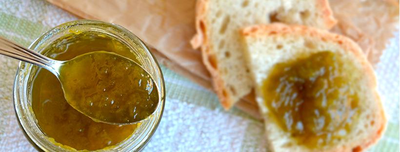 Marmellata peperoni verdi e brandy