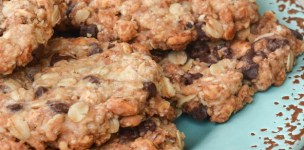 Biscotti con farina di riso avena e farro soffiato