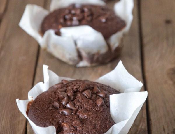 Muffin alla banana e cioccolato