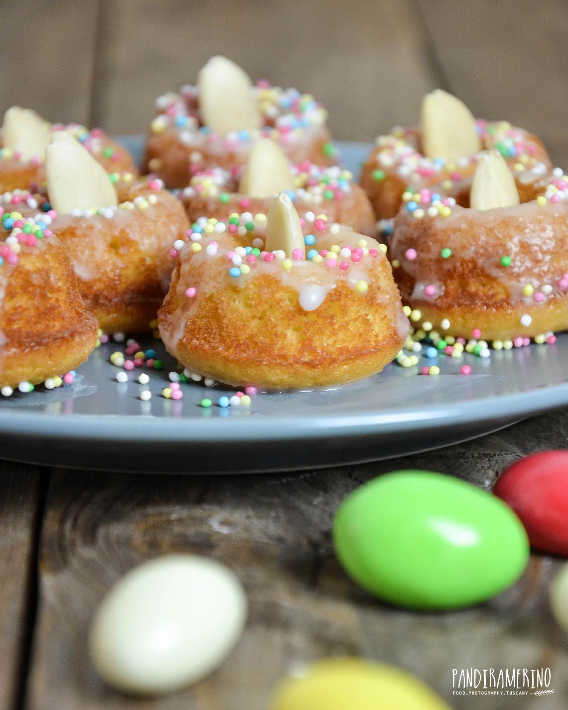 Ciambelline mandorle e miele Pasqua