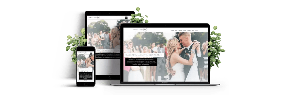 Web Development - WordPress Website for Legacy Events 119