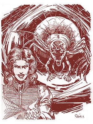 Aranea fantasy gaming monster