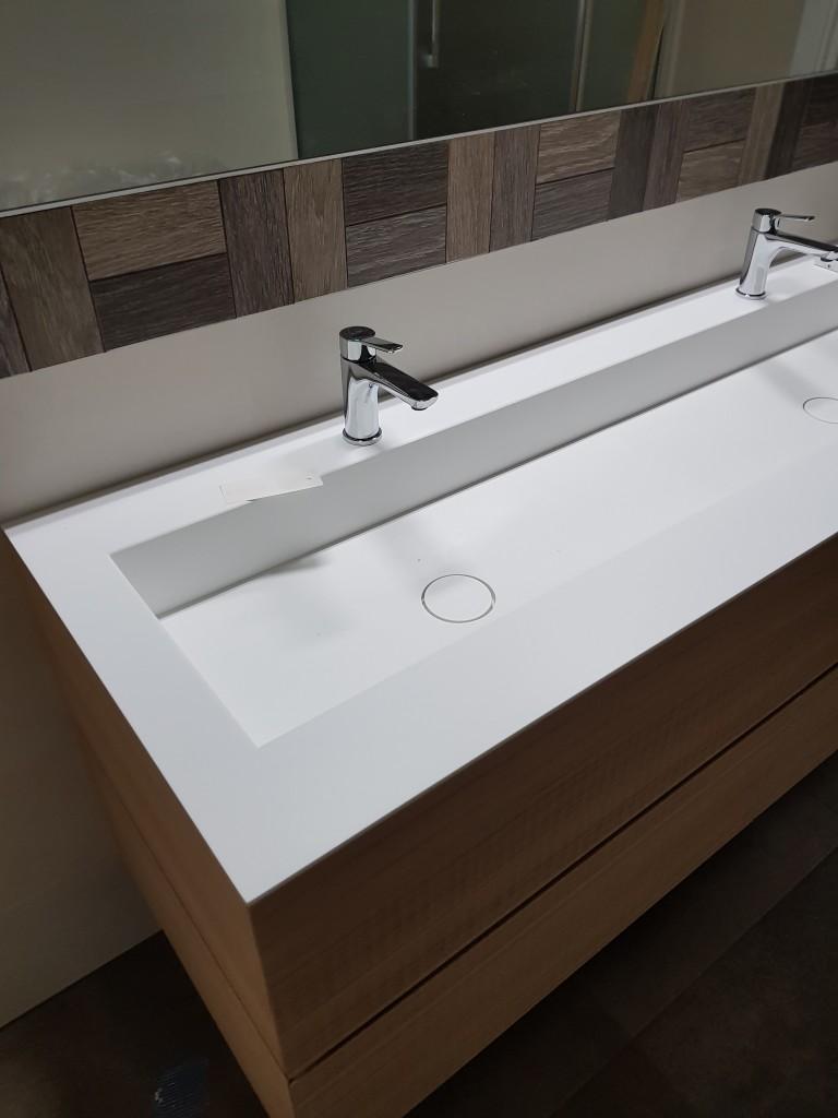 Mobili bagno doppio rubinetto PandolfoPandolfo