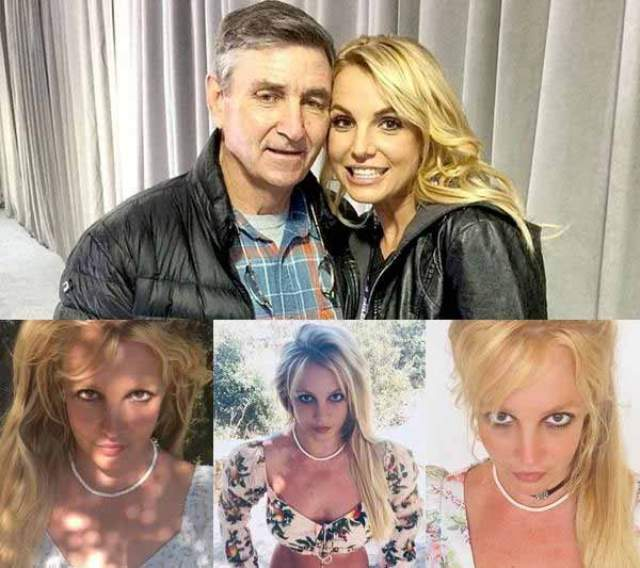 Netizens believed that Britney was under house arrest by her father