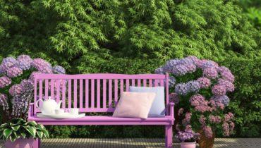 best garden bench ideas