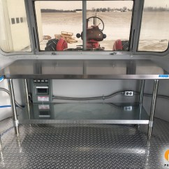 Prep Tables For Kitchen Ge Slate P & S Trailer Service - Growing The Dynasty Airstream Food ...