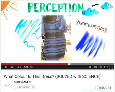 Video thedress